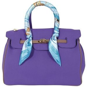 Her-ism Purple Tote Bag
